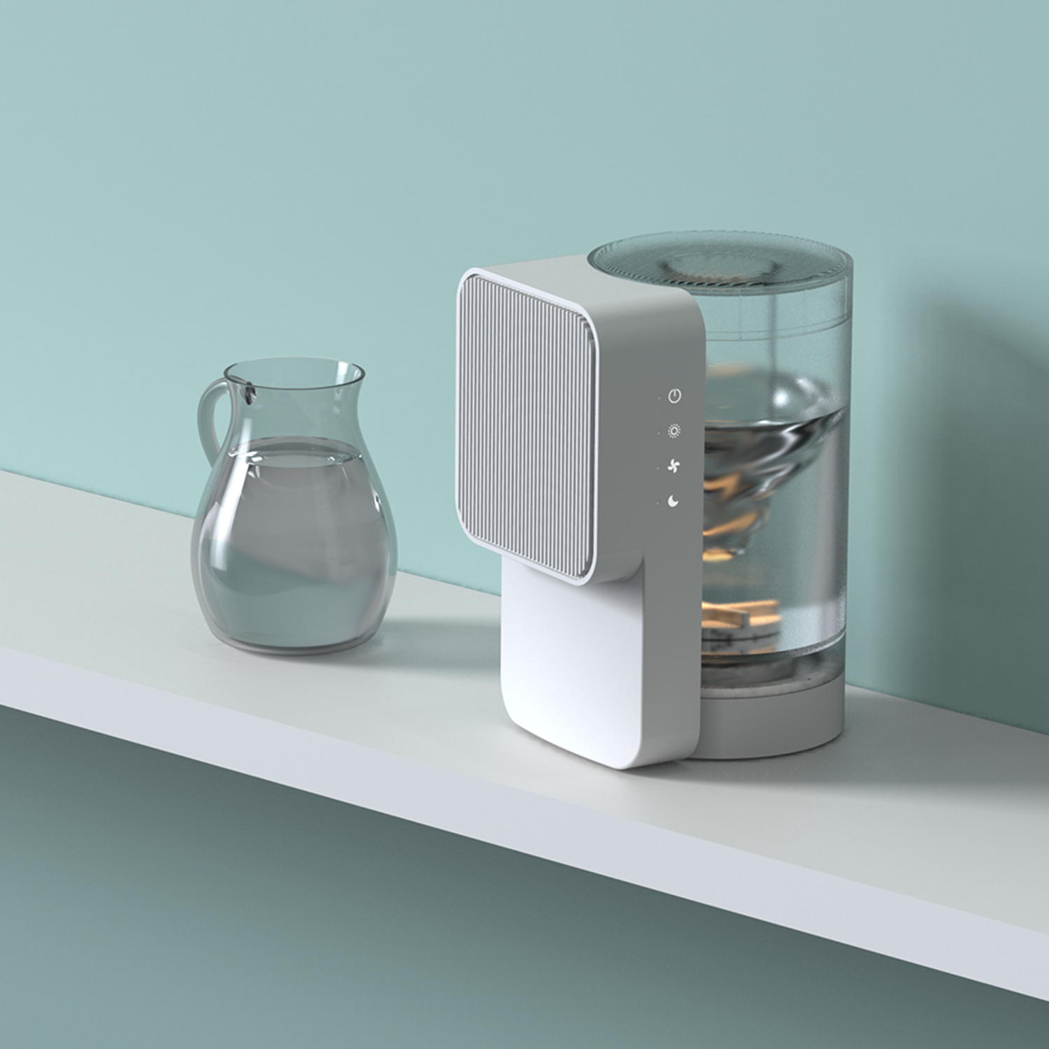 Humidifier & Air Purifier Product Design